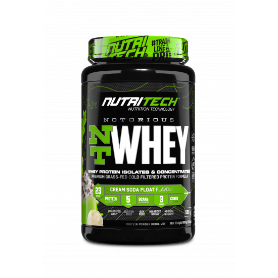 NUTRITECH NOTORIOUS WHEY PROTEIN 2LBS (30 SERVING)