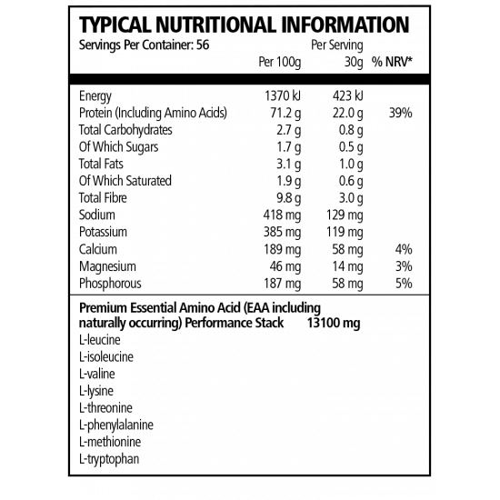 TNT TITANIUM WHEY ISOLATE 1.7KG (56 SERVING)