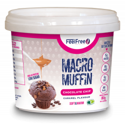 FEEL FREE MACRO MUFFIN (CHOC CHIP CARAMEL)