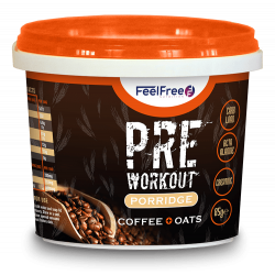 FEEL FREE PRE-WORKOUT (COFFEE/OATS)