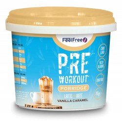FEEL FREE PRE-WORKOUT (LATTE/OATS)