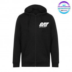 GAT SPORT ZIP-UP HOODY (BLACK)