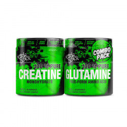MUSCLE JUNKIE CREATINE AND GLUTAMINE COMBO PACK