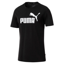 PUMA ESSENTIAL TEE (BLACK)