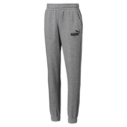 PUMA AMPLIFIED SWEAT PANTS (GRAY HEATHER)