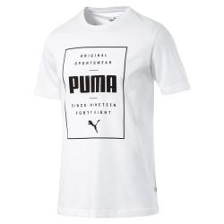 PUMA BOX TEE (WHITE)