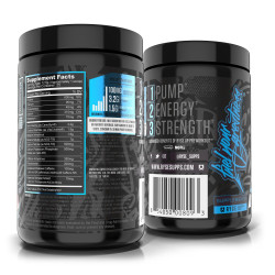 RYSE PRE-WORKOUT PROJECT BLACK HIGH STIM (25 SERVING)