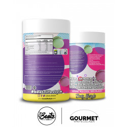 BEATZ GOURMET WHEY & COLLAGEN VANILLA MACARON 909G (30 SERVING)