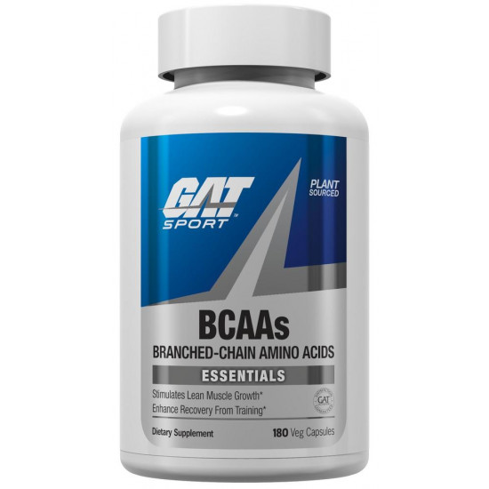 GAT SPORT BCAA CAPS (180 CAP)