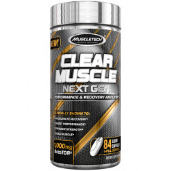 MUSCLETECH CLEAR MUSCLE (84 CAPS)
