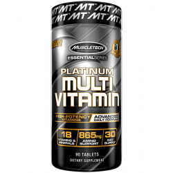MUSCLETECH PLATINUM 100% MULTIVITAMIN (90 CAPSULES / 30 SERVINGS)