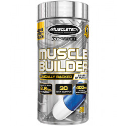 MUSCLETECH MUSCLE BUILDER (30 CAPSULES / 30 SERVINGS)