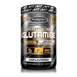 MUSCLETECH PLATINUM 100% GLUTAMINE (300GM / 60 SERVINGS)