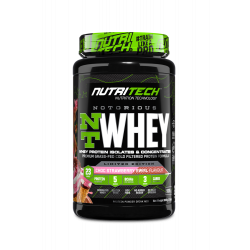 NUTRITECH NOTORIOUS WHEY PROTEIN 2LBS LIMITED EDITION (30 SERVING)