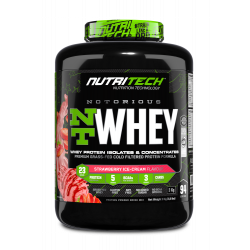 NUTRITECH NOTORIOUS WHEY PROTEIN 6.6LBS (94 SERVING)