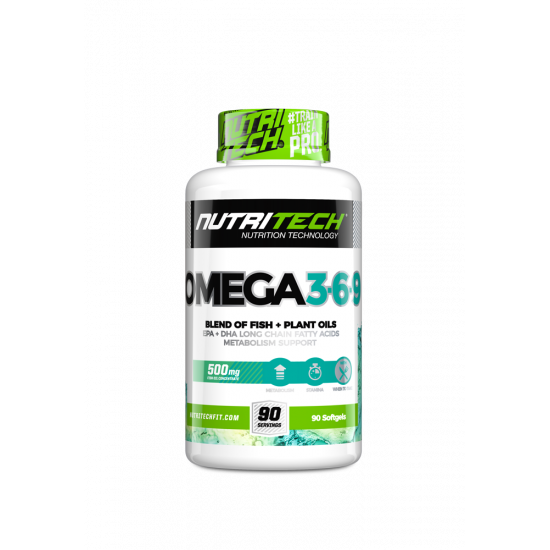 NUTRITECH OMEGA 3-6-9 (90 CAPS)