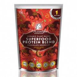 WAZOOGLES SUPERFOOD PROTEIN BLEND - CHOCOLATE MOONDUST (33G)