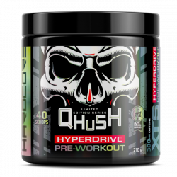USN XTS HYPERDRIVE QHUSH ORIGINAL PRE-WORKOUT LIMITED EDITION (40 SCOOPS)