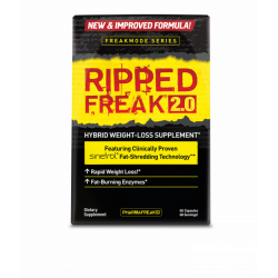 PHARMAFREAK RIPPED FREAK 2.0 FAT BURNER (60 CAPS)