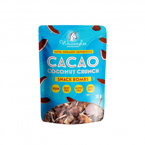 WAZOOGLES SNACK BOMB - CACAO COCONUT CRUNCH (30G)