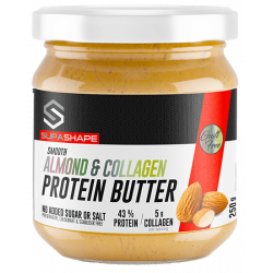 SUPASHAPE ALMOND & COLLAGEN PROTEIN BUTTER (250G)