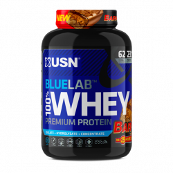 USN BLUE LAB 100% WHEY PROTEIN 2KG BAR-ONE (62 SERVING)