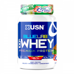 USN BLUE LAB 100% WHEY PROTEIN 908G PEPPERMINT CRISP (28 SERVING)