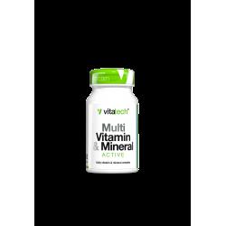 VITATECH MULTI-VITAMIN & MINERAL ACTIVE (30 TABS)