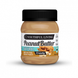 YOUTHFUL LIVING NATURAL PEANUT PEANUT BUTTER CRUNCHY