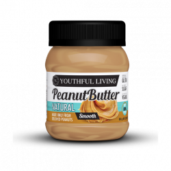 YOUTHFUL LIVING NATURAL PEANUT PEANUT BUTTER SMOOTH