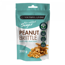 YOUTHFUL LIVING PEANUT BRITTLE (200G)