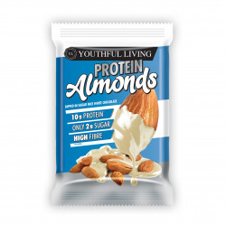 YOUTHFUL LIVING PROTEIN ALMONDS WHITE CHOCOLATE (40G)