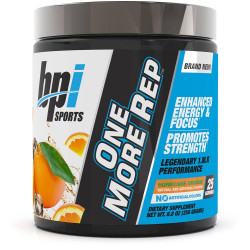 BPI SPORTS ONE MORE REP PRE-WORKOUT 250G (25 SERVING)