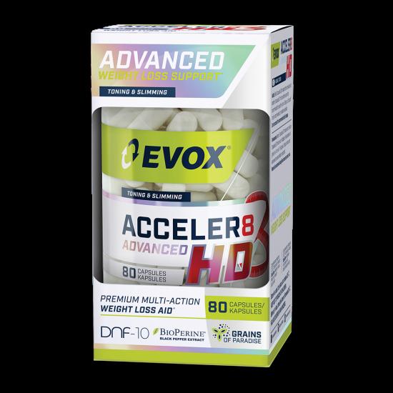 EVOX ACCELER8 ADVANCED HD (80 CAPS)