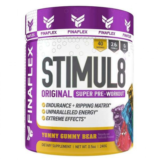 FINAFLEX STIMUL8 ORIGINAL PRE-WORKOUT 240G (40 SERVING)