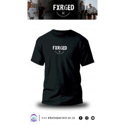 FXRGED UNISEX T-SHIRT (BLACK)