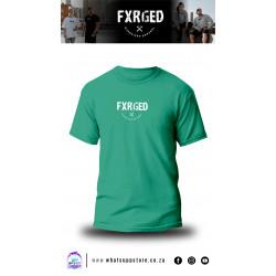 FXRGED UNISEX T-SHIRT (EMERALD)