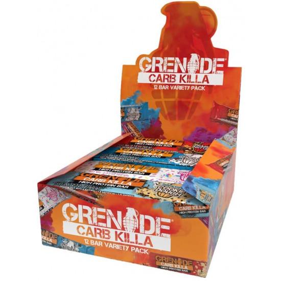 GRENADE CARB KILLA HIGH PROTEIN BAR LIMITED EDITION VARIETY BOX (12X60G)