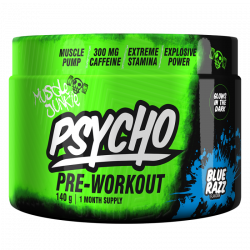MUSCLE JUNKIE PSYCHO PRE-WORKOUT 140G (20 SERVING)