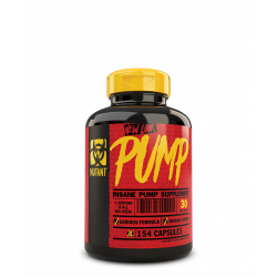 MUTANT PUMP 154 CAPS (22 SERVING)