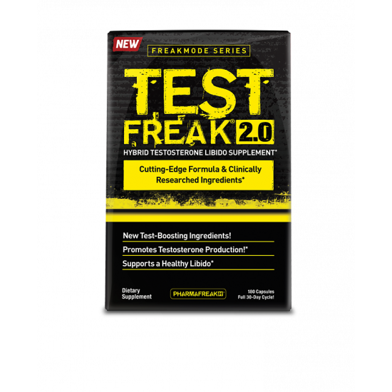 PHARMAFREAK FREAKMODE SERIES TEST FREAK 2.0 (180 CAPS/30 SERVING)