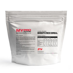 PRO NUTRITION 100% PURE SMOOTH RICE CEREAL 500G