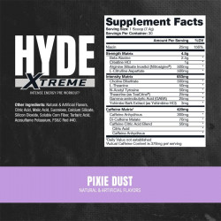 PROSUPPS HYDE XTREME PRE-WORKOUT 222G (30 SERVING)
