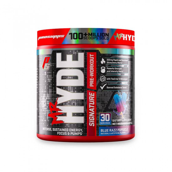 PRO SUPPS MR HYDE SIGNATURE PRE-WORKOUT 216G (30 SERVING)