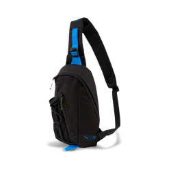 PUMA FIRST MILE CROSS BODY BAG (BLACK-NRGY BLUE-FIZZY YELLOW)
