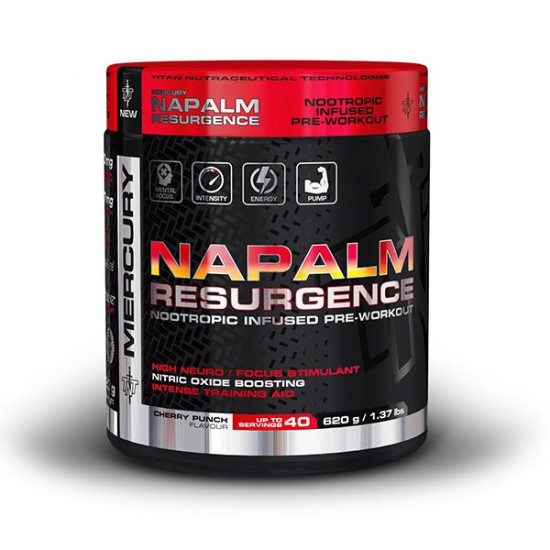 TNT NAPALM NOOTROPIC INFUSED PRE-WORKOUT (40 SERVING)