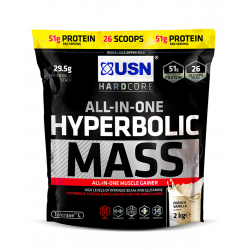 USN HYPERBOLIC MASS 2KG (26 SCOOPS)