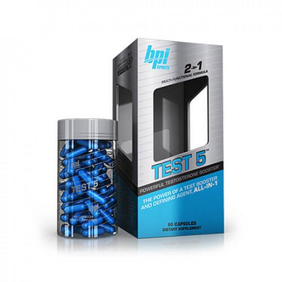BPI SPORTS TEST-5 (60 CAPS) 60 SERVING