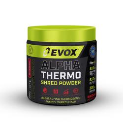 EVOX ALPHA THERMO SHRED POWDER (300G)