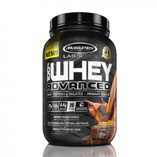 MUSCLETECH LAB SERIES 100% WHEY ADVANCED (2LBS / 26 SERVINGS)
